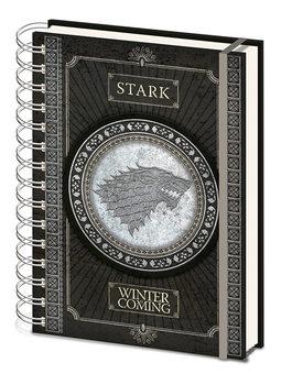 Notesbog Game Of Thrones - Stark