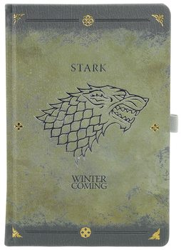 Game Of Thrones - Stark Worn Premium Notesbøger