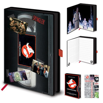 Notesbog Ghostbusters (VHS)