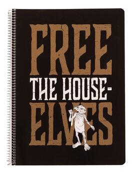 Notesbog Harry Potter - Dobby Free Elf A4