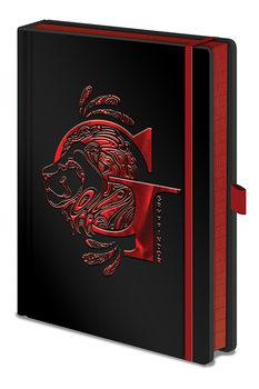 Notesbog Harry Potter - Gryffindor Foil