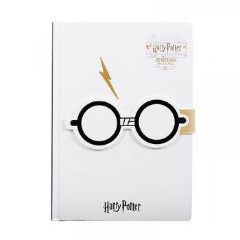 Notesbog Harry Potter - Lightening Bolt A5