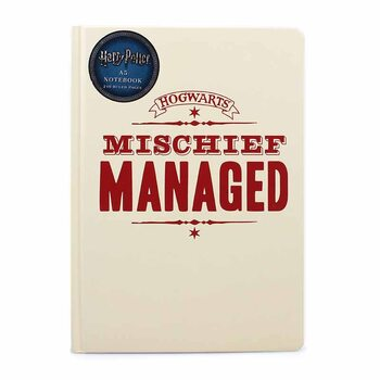 Notesbog Harry Potter - Mischief Managed