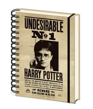 Notesbog Harry Potter - Sirius & Harry 3D Cover