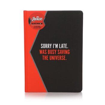 Notesbog Marvel - Black Widow