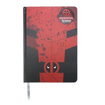 Notesbog Marvel - Deadpool