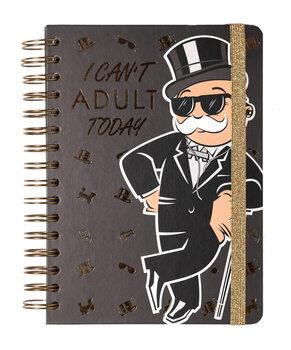 Notesbog Monopoly