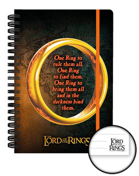 Ringenes herre - One Ring Notesbøger
