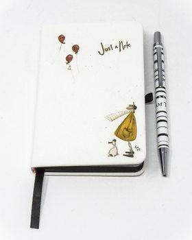 Sam Toft - Just A Note A6 Notesbøger