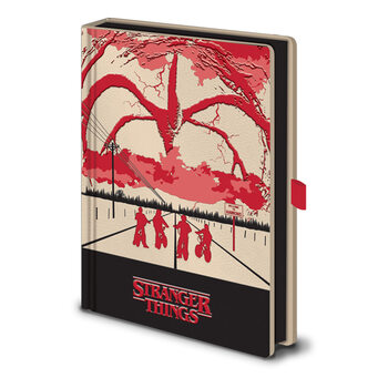 Stranger Things - Mind Flayer (Light Up) Notesbøger