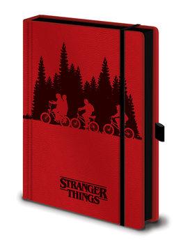 Notesbog Stranger Things - Upside Down