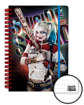 Suicide Squad - Harley Quinn Good Night Notesbøger