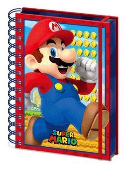 Notesbog Super Mario - Mario