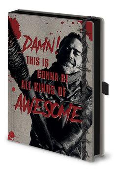 Notesbog The Walking Dead - Negan & Lucile