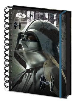 Lotr 1. Gwiezdne wojny: historie - Darth Vader A5 Notebook Notes