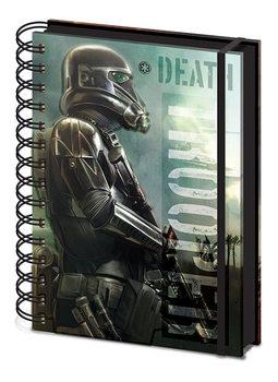 Lotr 1. Gwiezdne wojny: historie - Death Trooper A5 Notebook Notes