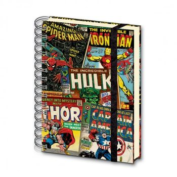 MARVEL - notebook A5 Notitieblok