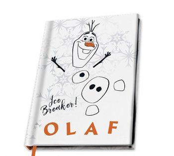 Notitieblok Frozen: Il regno di ghiaccio 2 - Olaf