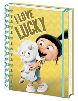 Verschrikkelijke Ikke 3 - I Love Lucky Notitieblok