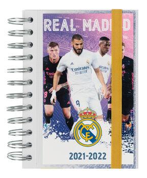 Notitieschrift Agenda Real Madrid