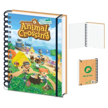 Notitieschrift Animal Crossing - New Horizons