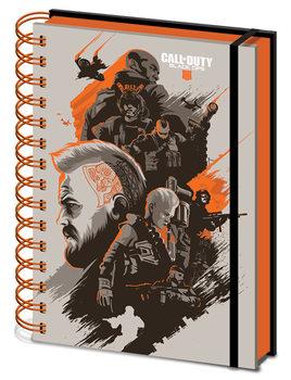 Notitieschrift Call Of Duty - Black Ops 4