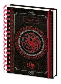 Notitieschrift Game of Thrones - Targaryen