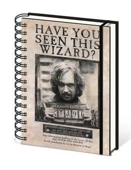 Notitieschrift Harry Potter - Wanted Sirius Black