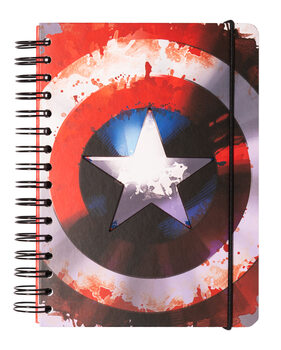 Notitieschrift Marvel - Captain America