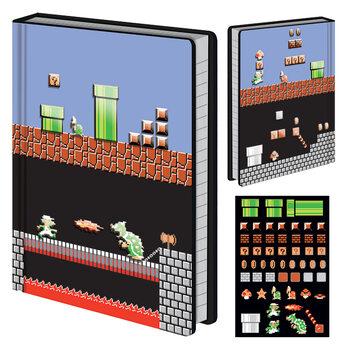 Notitieschrift Super Mario Bros - Level Builder