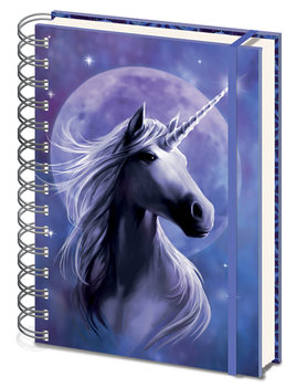 Notizbücher  Anne Stokes - Unicorn Starlight