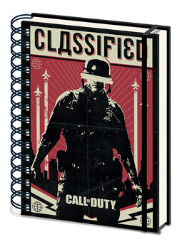 Notizbuch Call of Duty: Black Ops Cold War - Classified