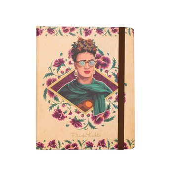 Notizbücher Frida Kahlo - Glasses A5