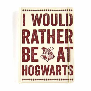 Notizbücher Harry Potter - Hogwarts Slogan