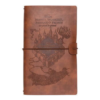 Notizbuch Harry Potter - Marauders Map