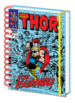 Notizbücher Marvel Retro - Thor A5