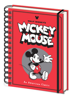 Notizbücher  Mickey Mouse - Wave