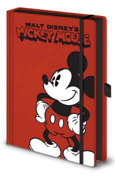 Notizbuch Micky Maus (Mickey Mouse) - Pose