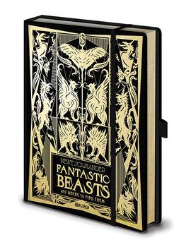 Notizbücher  Phantastische Tierwesen: Grindelwalds Verbrechen - Fantastic Beasts
