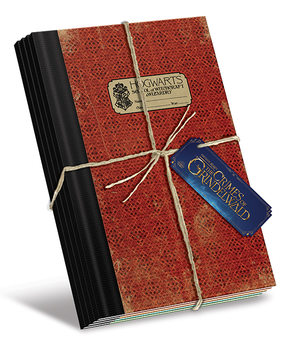 Notizbücher  Phantastische Tierwesen: Grindelwalds Verbrechen - Hogwarts