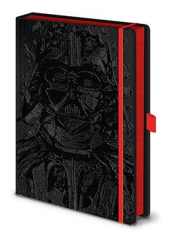 Notizbücher Star Wars - Vader Art