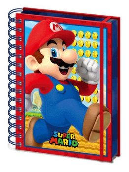 Notizbücher Super Mario - Mario