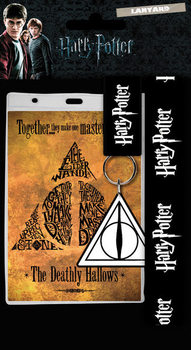 Nyckelband Harry Potter - Deathly Hallows
