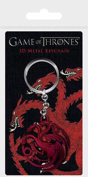 Nyckelring Game Of Thrones - Targaryen Sigil