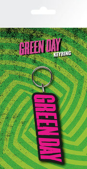 Green Day - Logo Nyckelringar
