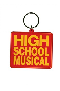 HIGH SCHOOL MUSICAL - Logo Nyckelringar