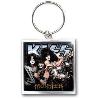 Kiss - Monster Metal Nyckelringar