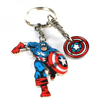 Nyckelring Marvel - Captain America