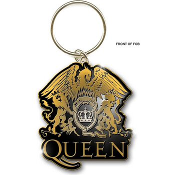 Nyckelring Queen - Gold Crest