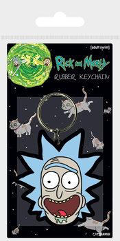 Nyckelring Rick and Morty - Rick Crazy Smile